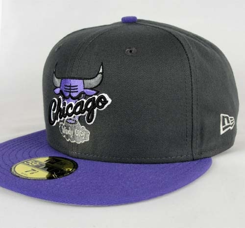 ... x New Era Exclusive Fitted Hat at Cranium Fitteds » Custom-New-Era- Fitted-Hat-Chicago-Bulls-Hardwood-Classics-Dark-Gray-Varsity-Purple-59fifty -3-500×500 eca91a64fc5a